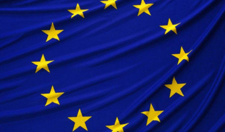 European Union flag --- Image by © Goodshoot/Corbis