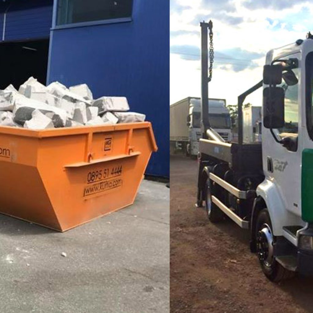 контейнери за строителни отпадъци - София